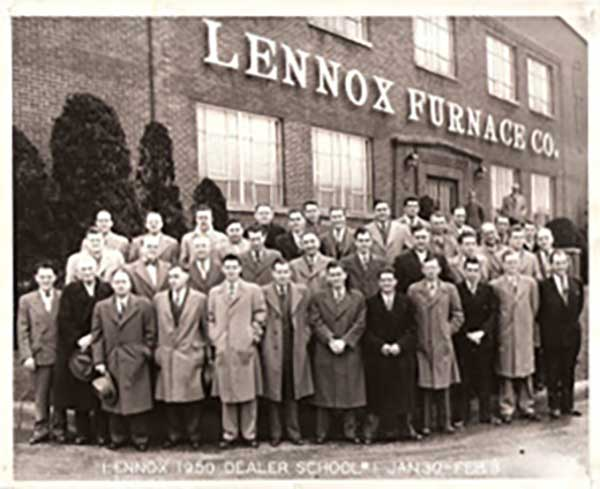 RCS-AIr - Lennox Historical Photo - Lennox Furnace Co.