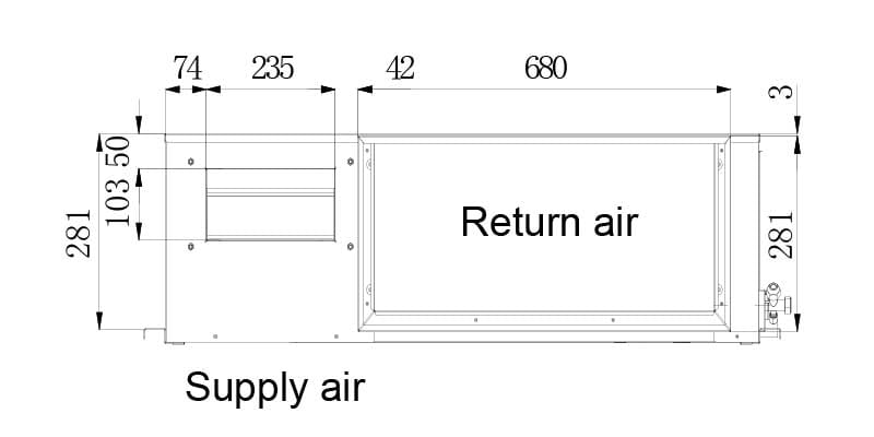 RCS-AIr Polaris HideAway Specifications