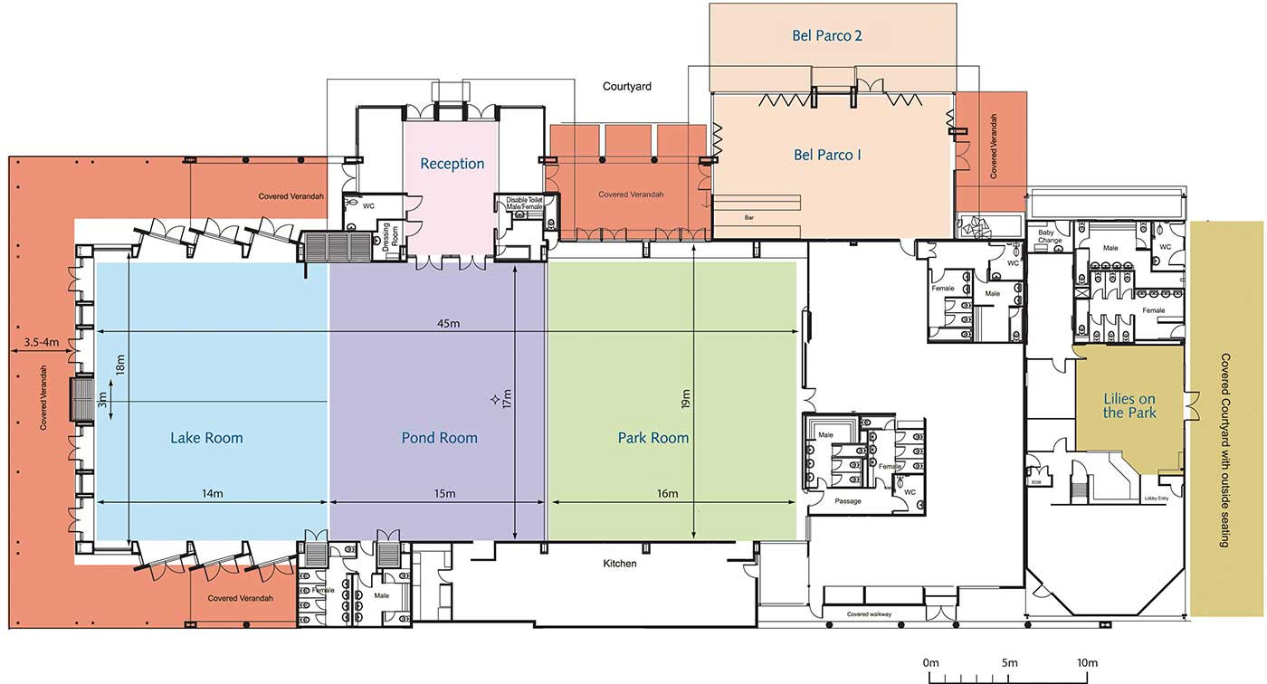 RCS-AIr Case Study - Daikin VRV R410A - Venue Plan