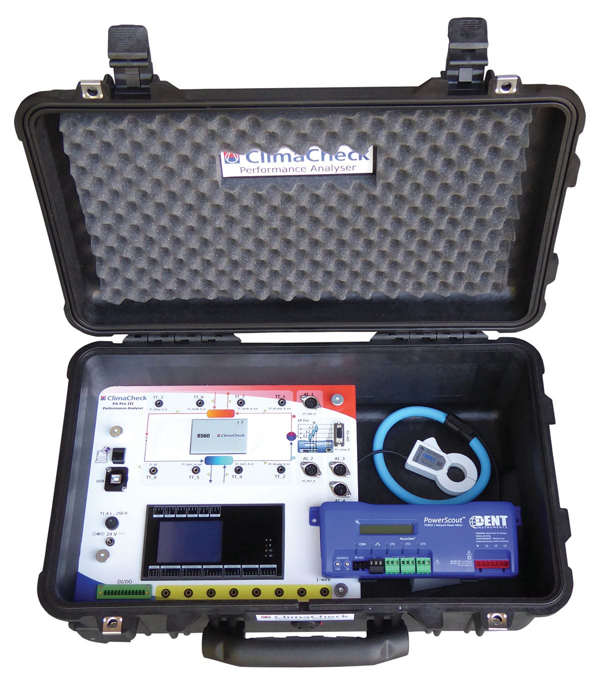 RCS-Air - ClimaCheck® Live Analysis of Cooling and Heating in HVAC+R