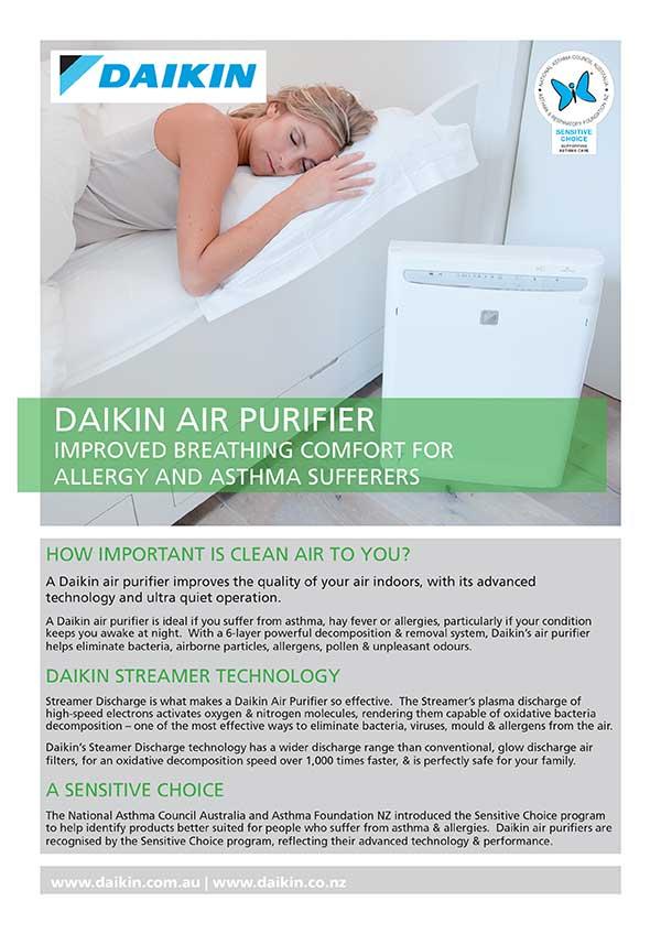 RCS-Air - Daikin Air Conditioners - Daikin Air Purifier