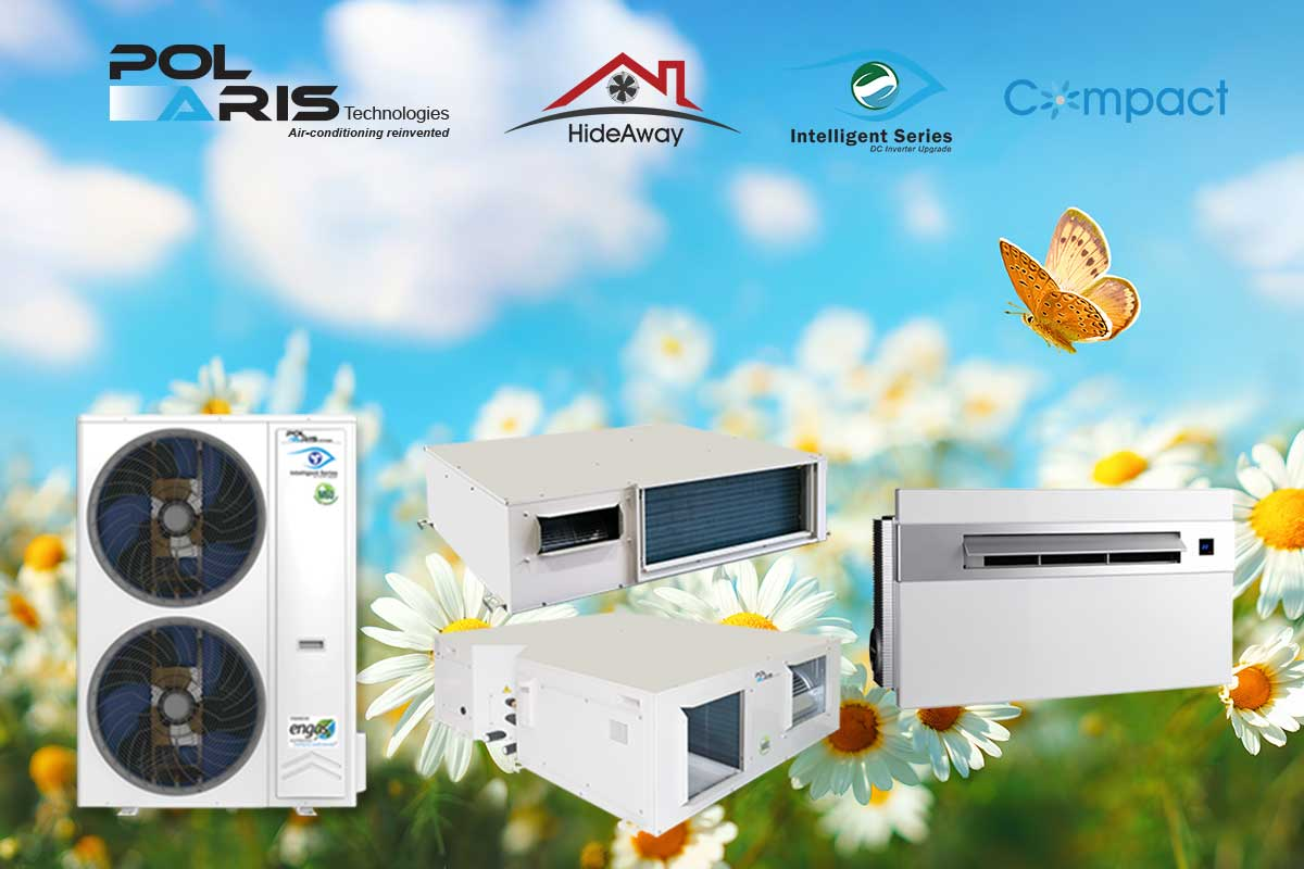 Polaris range of advanced air conditioners