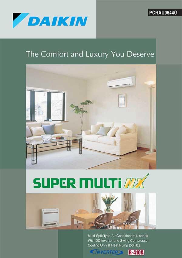 RCS-Air - Daikin Air Conditioners - Super Multi NX