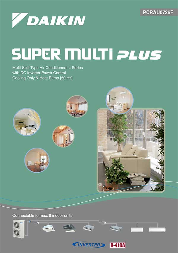 RCS-Air - Daikin Air Conditioners - Super Multi Plus