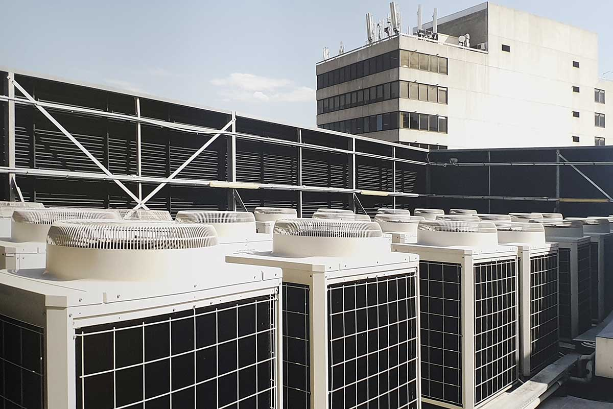 Commercial Building Sydney – 25 VRF Systems.