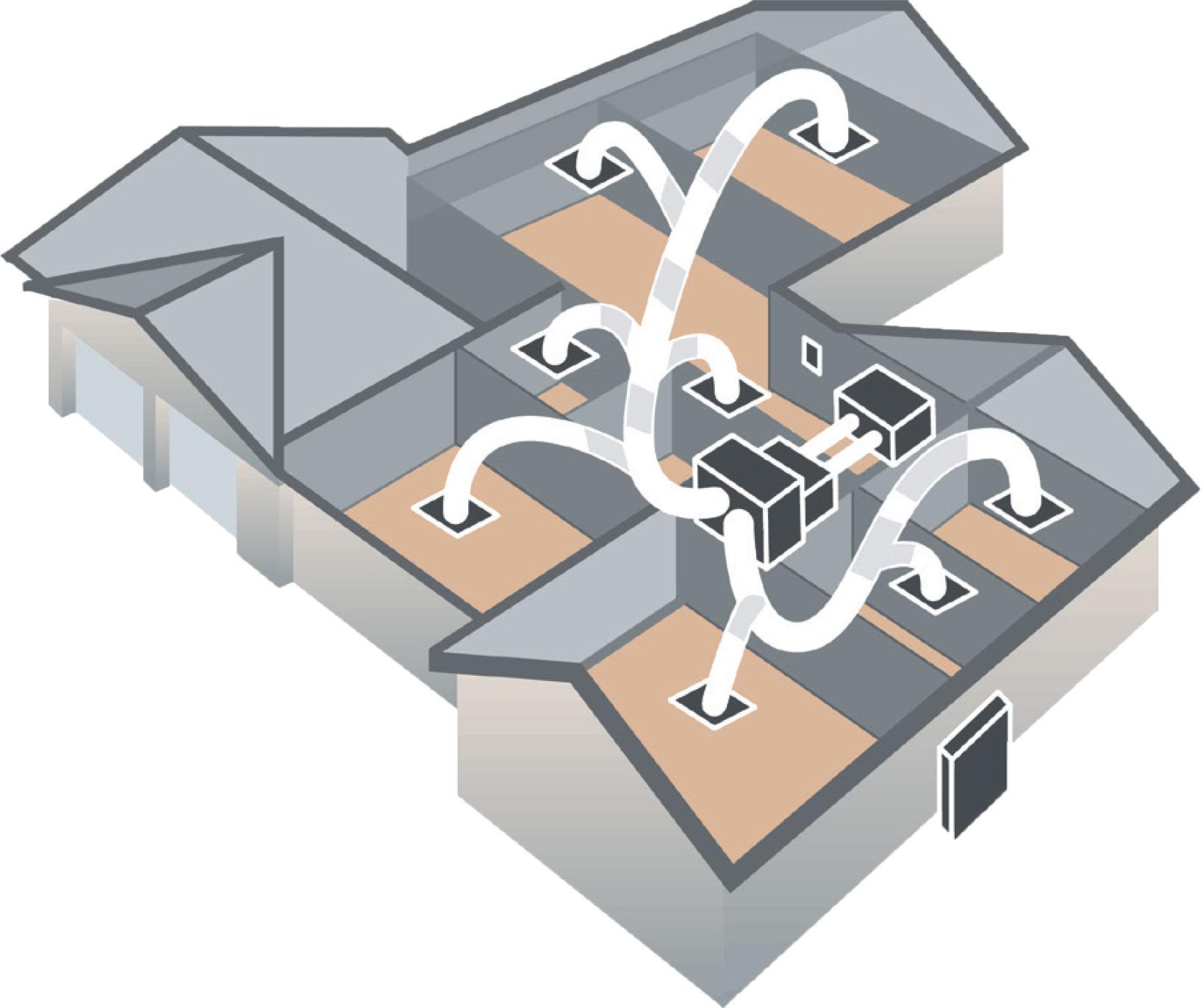 POWER PureAir Air Steriliser Ducted System