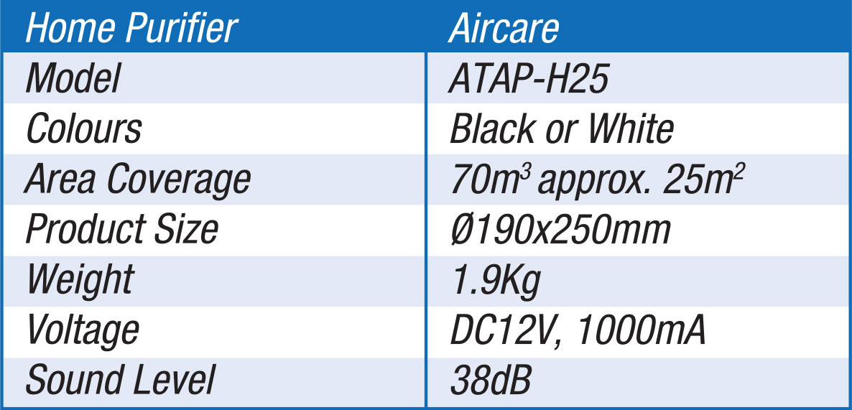 POWER PureAir Air Steriliser for Home