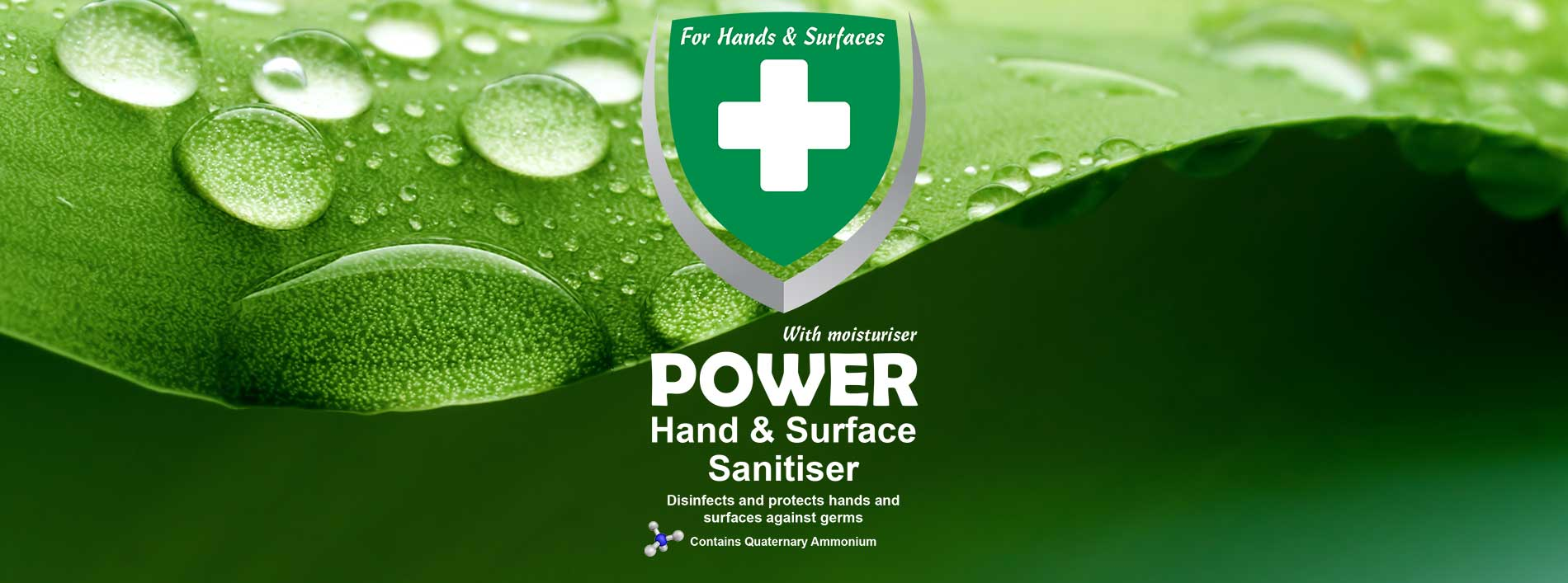 POWER Hand and Surface Sanitiser by Promek