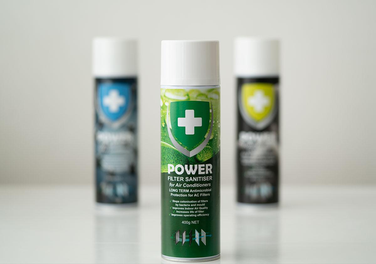 POWER Filter Sanitiser