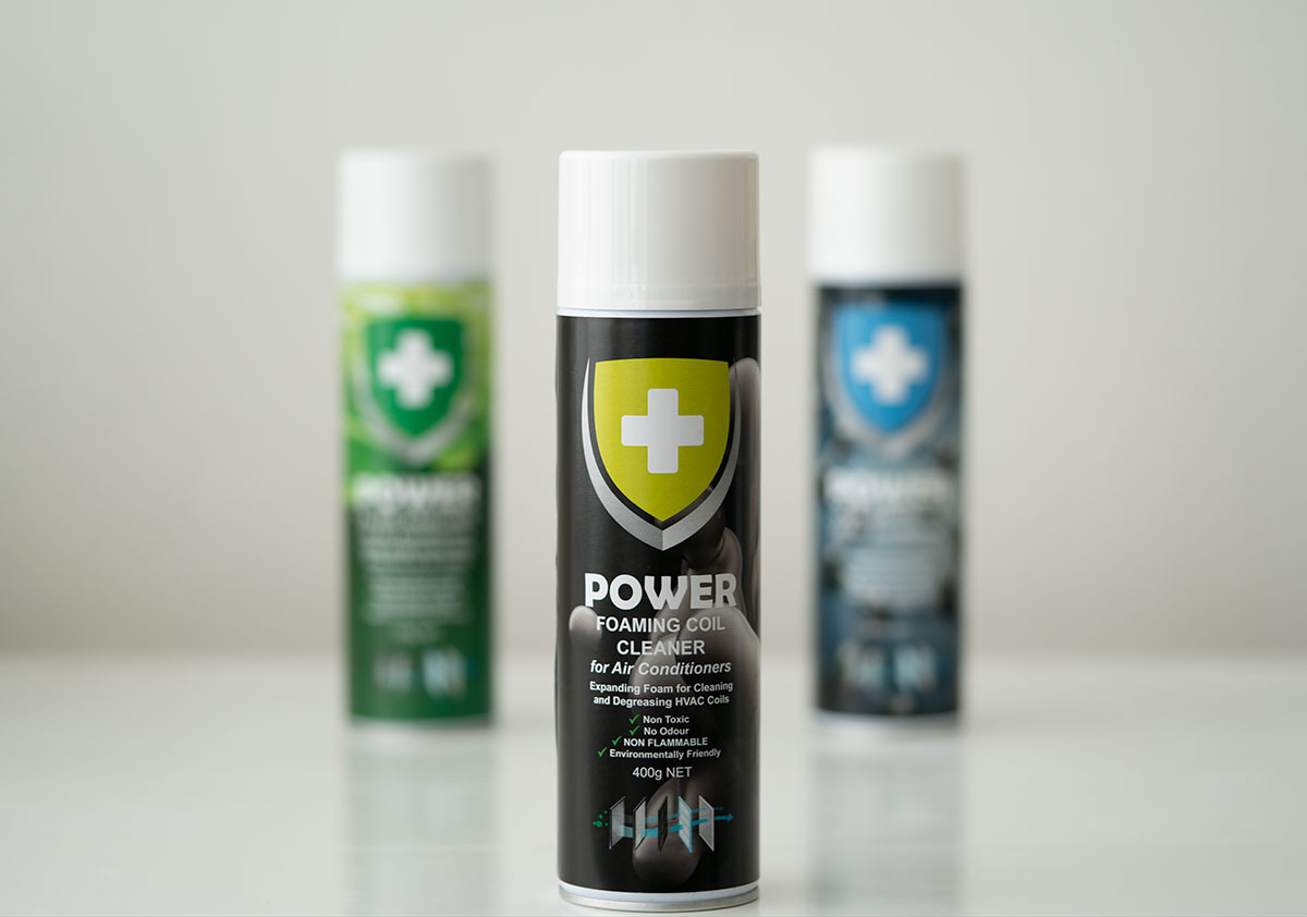 POWER Foaming Coil Cleaner