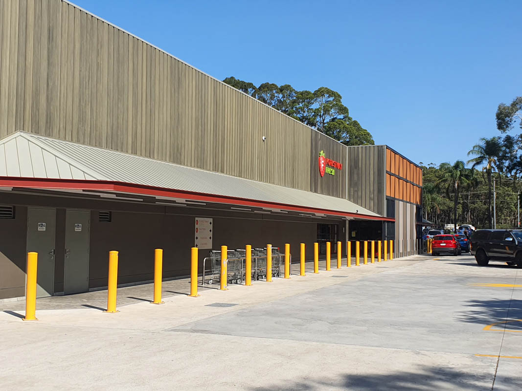 Supermarket Belrose – 3 year Old HVAC and Refrigeration Condensers Reduces Running Cost.