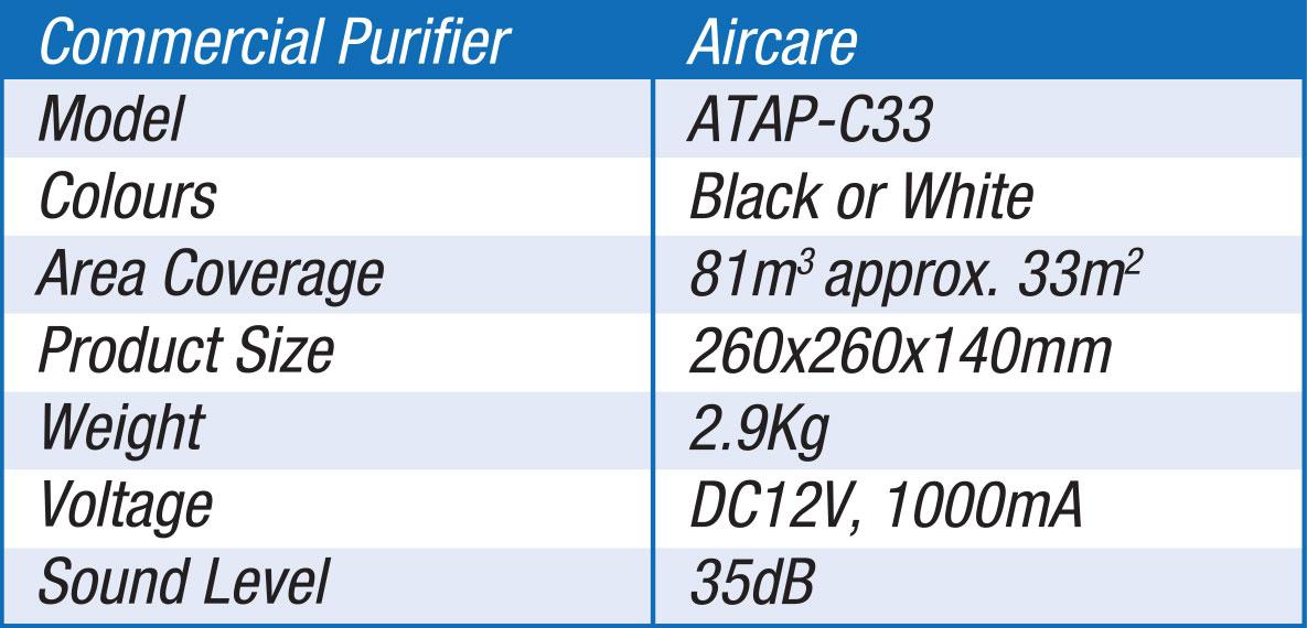 POWER PureAir Air Steriliser for Commercial Use